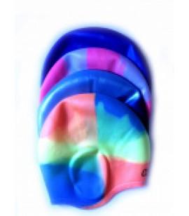 Шапочка д/плав. силикон с выемками для ушей