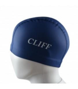 Шапочка для плавания CLIFF силиконовая с лайкрой PU01