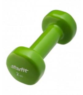 """ГАНТЕЛИ """"Start Fit"""" виниловые DB-101 (2,0 кг) (пара)"""