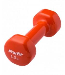 """ГАНТЕЛИ """"Start Fit"""" виниловые DB-101 (1,5 кг) (пара)"""